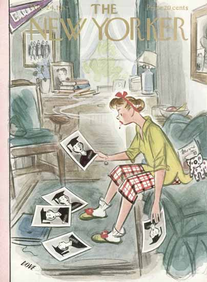 Leonard Dove The New Yorker 1952_05_24 Copyright | The New Yorker Graphic Art Covers 1946-1970