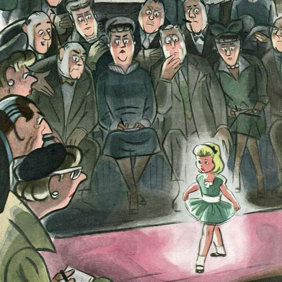 Leonard Dove The New Yorker 1953_03_07 Copyright crop | Best of Vintage Cover Art 1900-1970