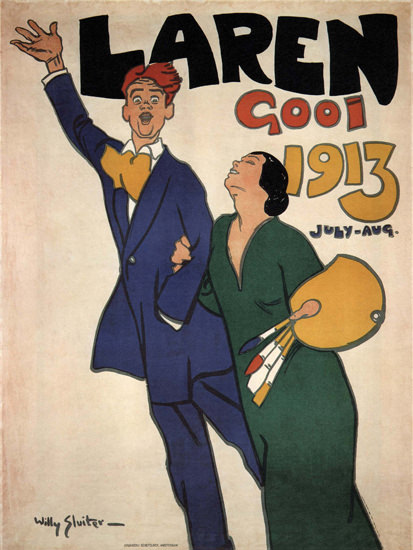 Laren Gooi 1913 Netherlands | Sex Appeal Vintage Ads and Covers 1891-1970