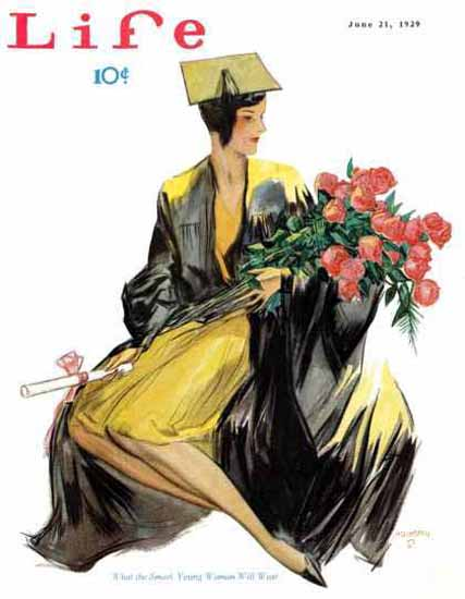 Life Magazine Copyright 1929 The Smart Young Woman | Sex Appeal Vintage Ads and Covers 1891-1970