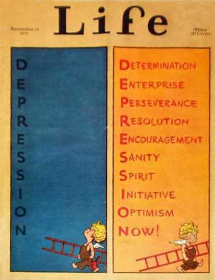 Life Magazine Copyright 1931 Reinterpretation Depression | Vintage Ad and Cover Art 1891-1970