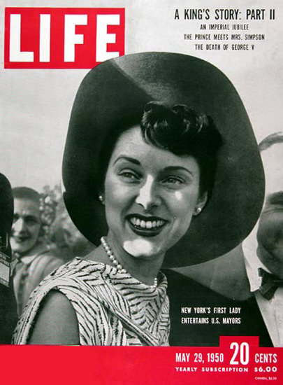 Life Magazine Copyright 1950 Sloan ODwyer New York | Vintage Ad and Cover Art 1891-1970