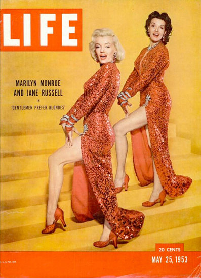 Life Magazine Copyright 1953-05 Marilyn Monroe | Sex Appeal Vintage Ads and Covers 1891-1970