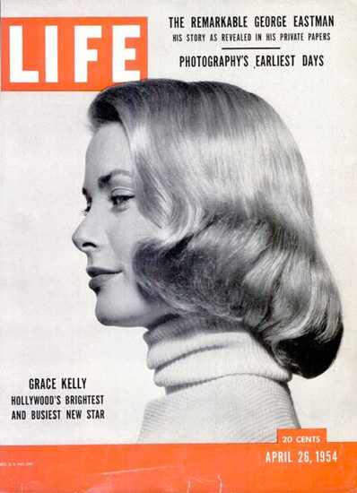 Life Magazine Copyright 1954 Grace Kelly | Sex Appeal Vintage Ads and Covers 1891-1970