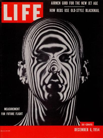 Life Magazine Copyright 1954 Measurement Future Flight | Vintage Ad and Cover Art 1891-1970
