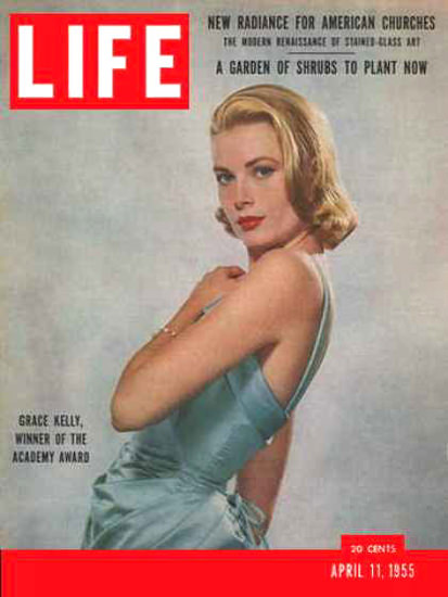 Life Magazine Copyright 1955 Grace Kelly Academy Award | Sex Appeal Vintage Ads and Covers 1891-1970