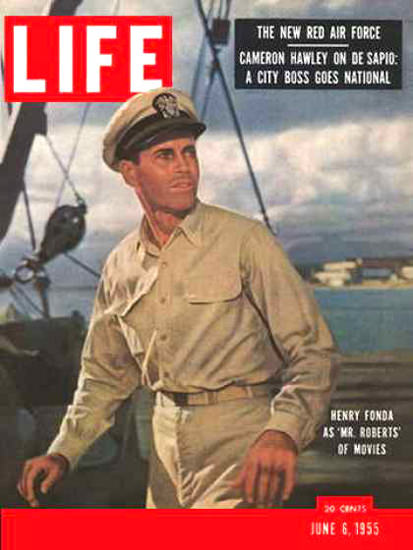 Life Magazine Copyright 1955 Henry Fonda Mr Roberts | Sex Appeal Vintage Ads and Covers 1891-1970