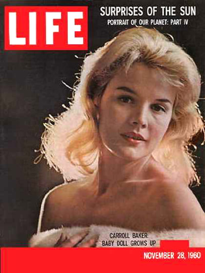 Life Magazine Copyright 1960 Carroll Baker Doll Grows Up | Sex Appeal Vintage Ads and Covers 1891-1970