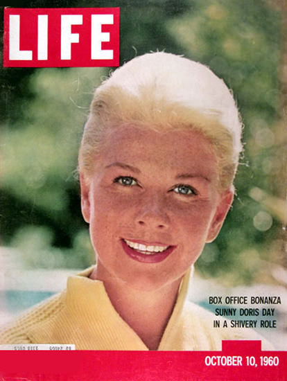 Life Magazine Copyright 1960 Doris Day Box Office Bonanza | Sex Appeal Vintage Ads and Covers 1891-1970