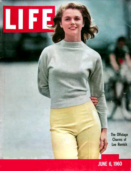 Life Magazine Copyright 1960 Lee Remick | Sex Appeal Vintage Ads and Covers 1891-1970