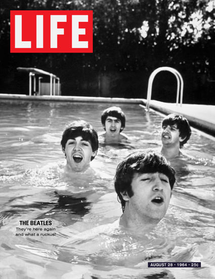 Life Magazine Copyright 1964-08 The Beatles 2 | Sex Appeal Vintage Ads and Covers 1891-1970