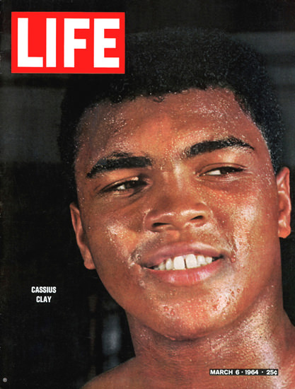 Life Magazine Copyright 1964 Cassius Clay Muhammad Ali | Sex Appeal Vintage Ads and Covers 1891-1970