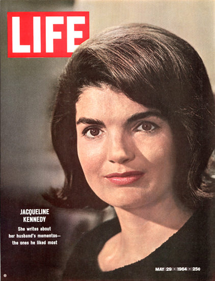 Life Magazine Copyright 1964 Jacqueline Kennedy | Vintage Ad and Cover Art 1891-1970