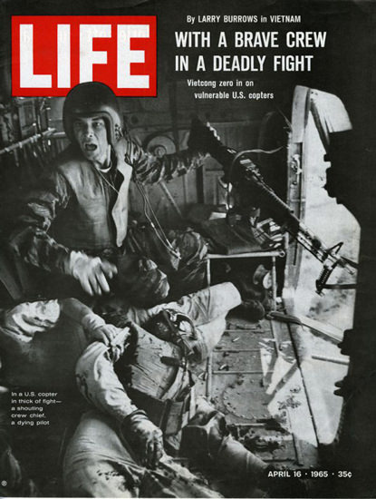 Life Magazine Copyright 1965 Vietnam In A Deadly Fight | Vintage Ad and Cover Art 1891-1970