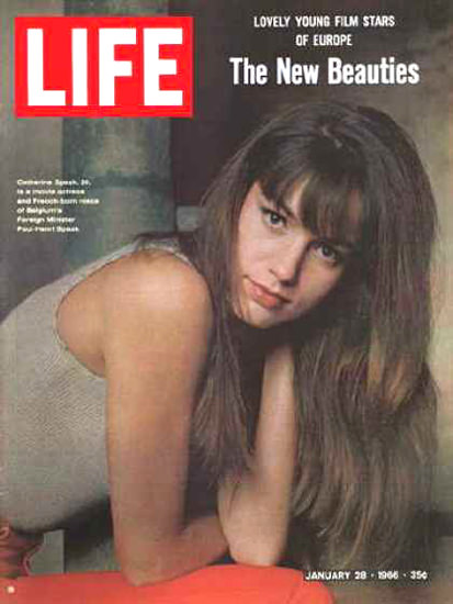 Life Magazine Copyright 1966 The New Beauties | Sex Appeal Vintage Ads and Covers 1891-1970