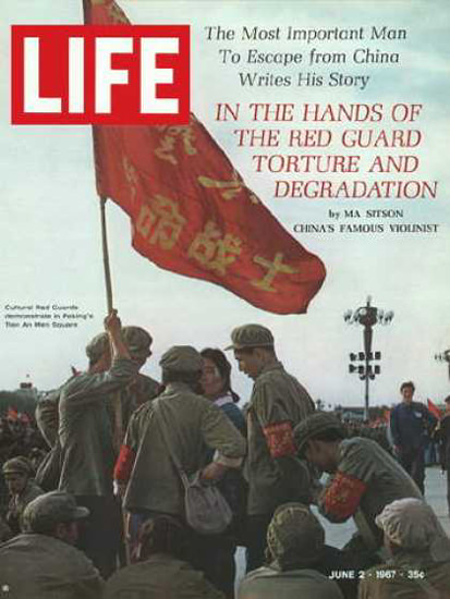 Life Magazine Copyright 1967 Chinas Cultural Red Guards | Vintage Ad and Cover Art 1891-1970