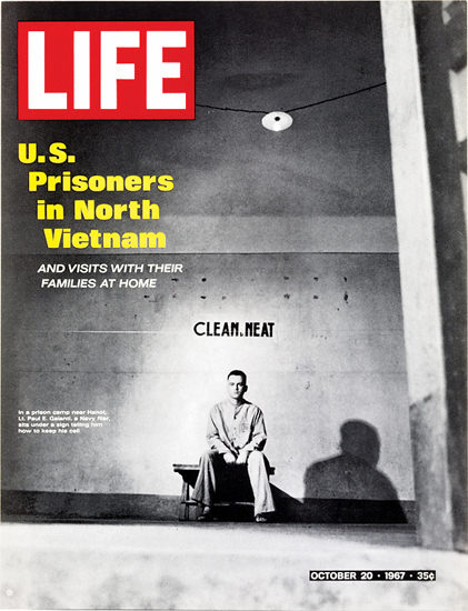 Life Magazine Copyright 1967 Vietnam US Prioners | Vintage Ad and Cover Art 1891-1970