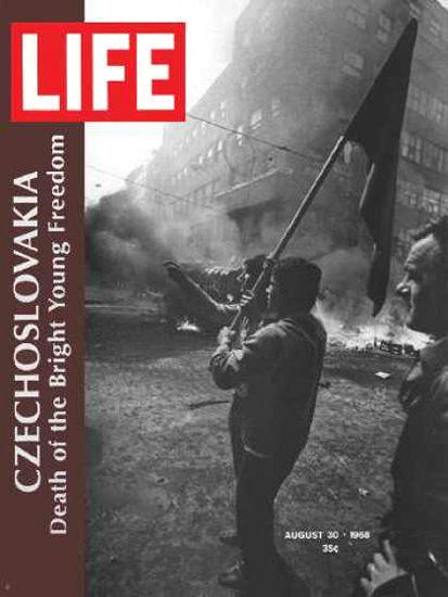 Life Magazine Copyright 1968 Czechoslovacia  Death | Vintage Ad and Cover Art 1891-1970