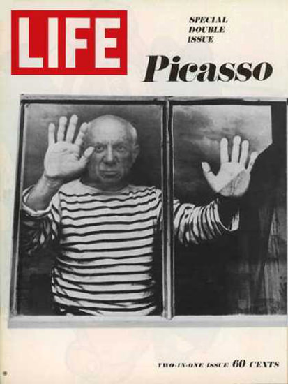 Life Magazine Copyright 1968 Pablo Picasso Special Issue | Vintage Ad and Cover Art 1891-1970