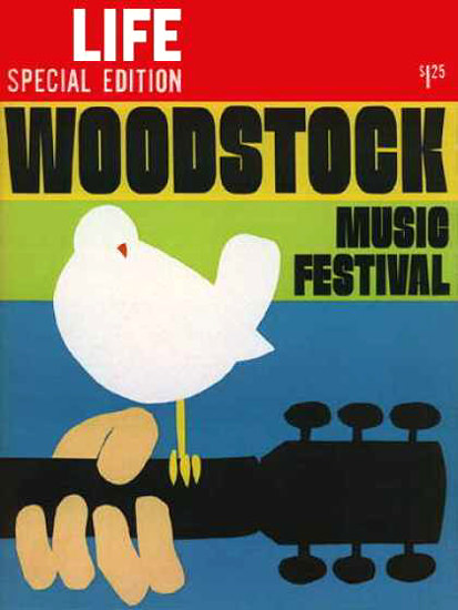 Life Magazine Copyright 1969 Woodstock Music Festival   Vintage Ad and Cover Art 1891-1970