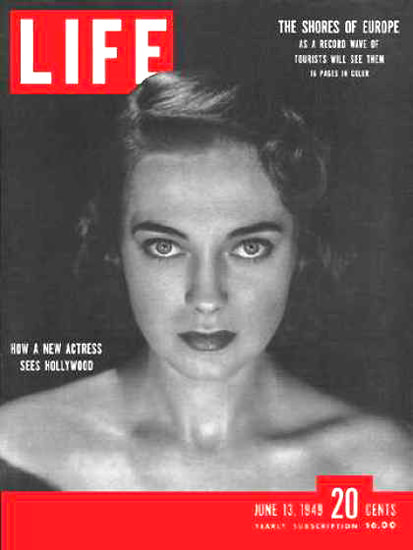 Life Magazine Cover Copyright 1949 Marta Toren | Sex Appeal Vintage Ads and Covers 1891-1970