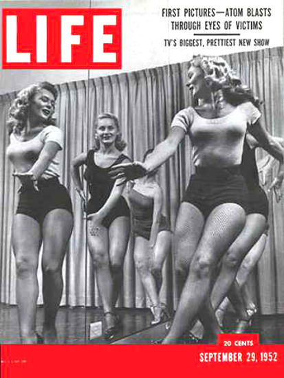Life Magazine Cover Copyright 1952 Jackie Gleason | Sex Appeal Vintage Ads and Covers 1891-1970