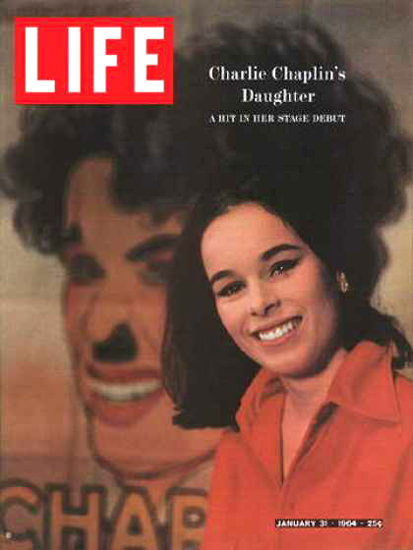 Life Magazine Cover Copyright 1964 Geraldine Chaplin | Sex Appeal Vintage Ads and Covers 1891-1970