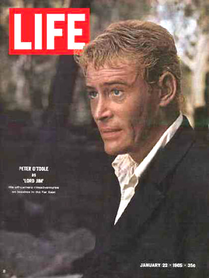 Life Magazine Cover Copyright 1965 Peter O Toole | Sex Appeal Vintage Ads and Covers 1891-1970