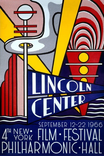Lincoln Center New York Philharmonic Hall 1966 | Vintage Ad and Cover Art 1891-1970