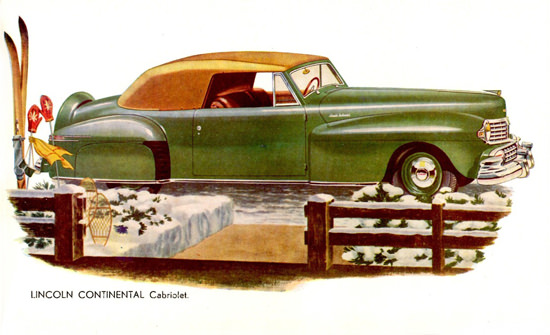 Lincoln Continental Cabriolet 1947 | Vintage Cars 1891-1970