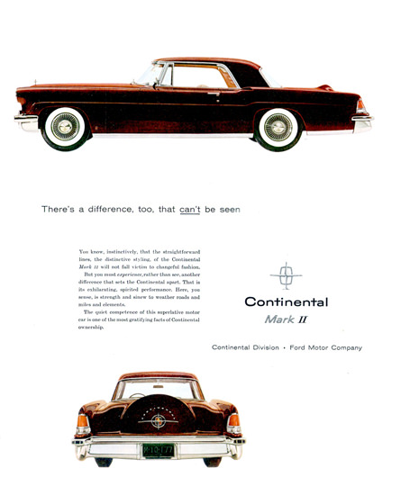 Lincoln Continental Mark II 1956 | Vintage Cars 1891-1970