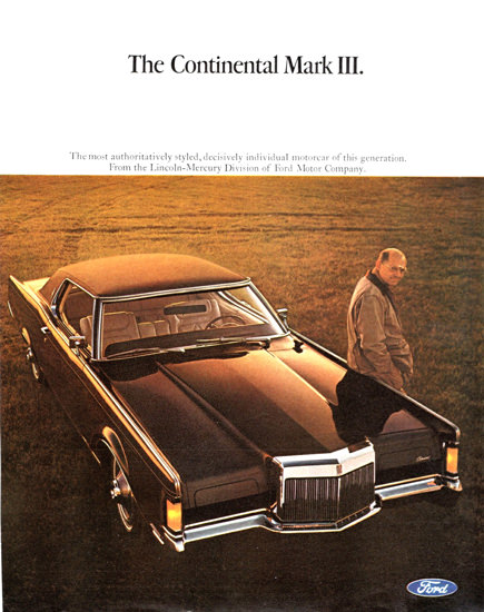 Lincoln Continental Mark III 1968 | Vintage Cars 1891-1970