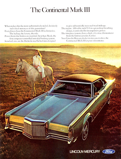 Lincoln Continental Mark III 1970 | Vintage Cars 1891-1970