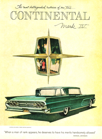 Lincoln Continental Mark IV Coupe 1959 | Vintage Cars 1891-1970