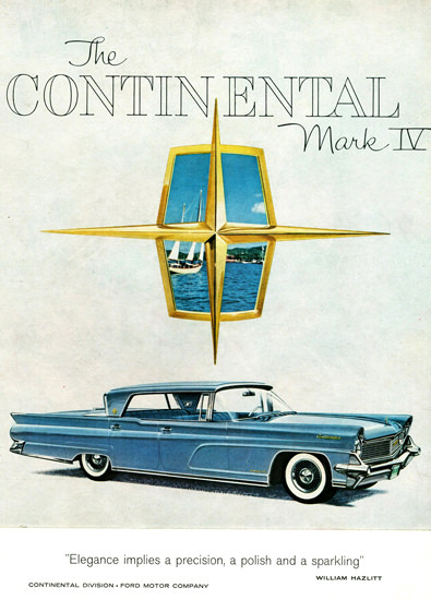 Lincoln Continental Mark IV Landau 1959 | Vintage Cars 1891-1970