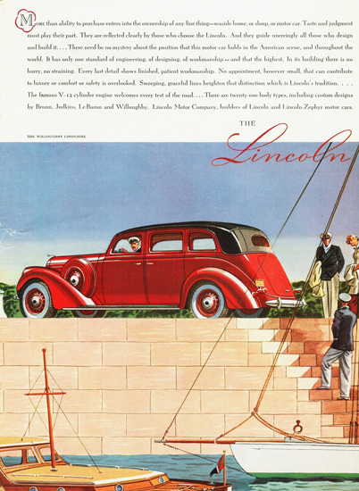 Lincoln Limousine Willoughby 1937 | Vintage Cars 1891-1970