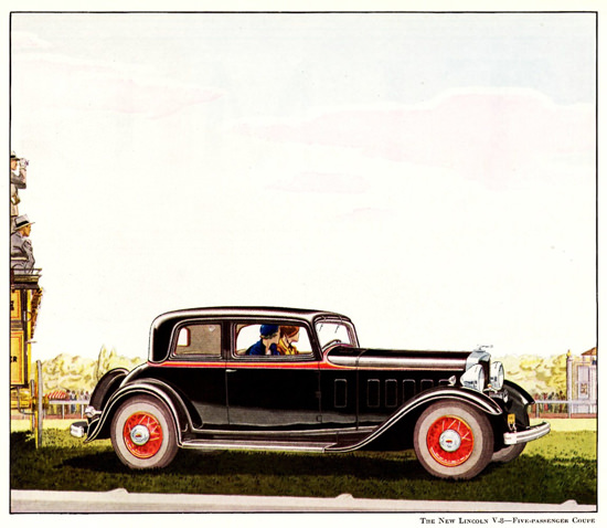 Lincoln Motor Company V8 Coupe 1932 | Vintage Cars 1891-1970