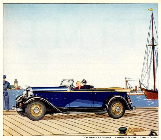 Lincoln Motor Company V8 Phaeton 1932 | Vintage Cars 1891-1970