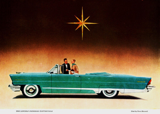 Lincoln Premiere Convertible 1956 | Vintage Cars 1891-1970