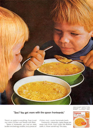 Lipton Soup Kids 1965 | Vintage Ad and Cover Art 1891-1970
