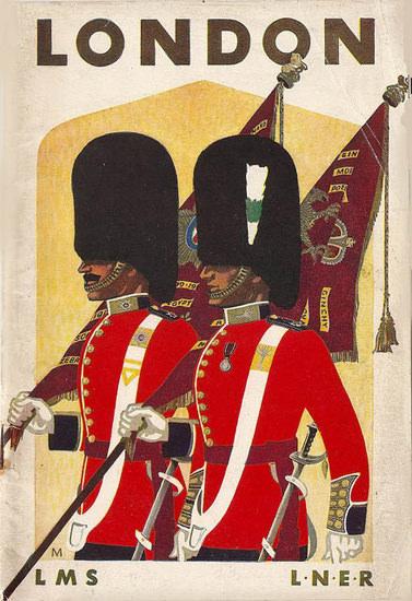 London LSM LNER 1937 | Vintage Travel Posters 1891-1970