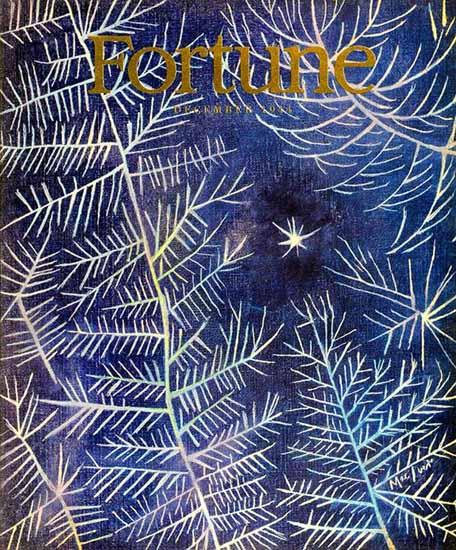Loren MacIver Fortune Magazine December 1944 Copyright   Fortune Magazine Graphic Art Covers 1930-1959