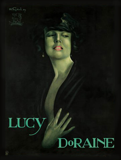 Lucy DoRaine 1924 | Sex Appeal Vintage Ads and Covers 1891-1970