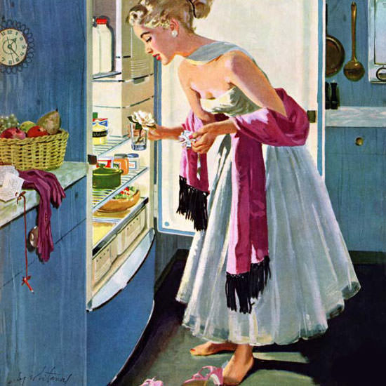 M Coburn Whitmore Saturday Evening Post 1955_10_29 Copyright crop | Best of Vintage Cover Art 1900-1970