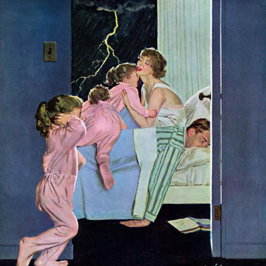 M Coburn Whitmore Saturday Evening Post 1958_03_22 Copyright crop | Best of Vintage Cover Art 1900-1970