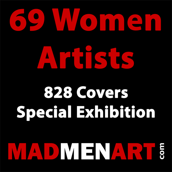 Mad Men Art 69 Women Artists 828 Covers | 69 Women Cover Artists and 826 Covers 1902-1970