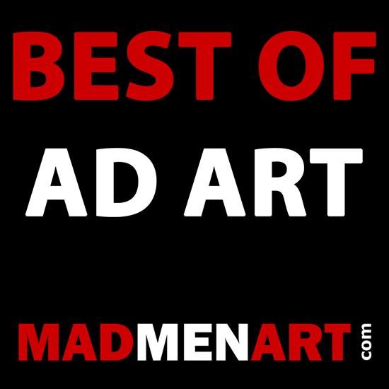 Mad Men Art BEST OF AD ART | Best of Vintage Ad Art 1891-1970