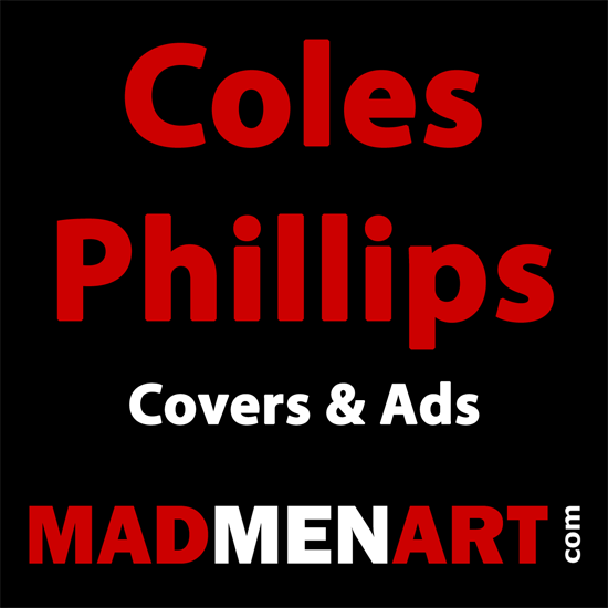 Mad Men Art Coles Phillips | 200 Coles Phillips Magazine Covers and Ads 1908-1927
