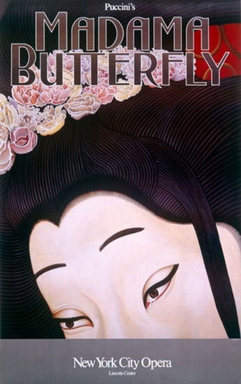 Madama Butterfly Giacomo Puccini New York | Sex Appeal Vintage Ads and Covers 1891-1970