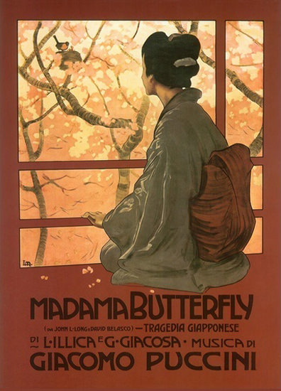 Madama Butterfyl Tragedia Giapponese Puccini   Sex Appeal Vintage Ads and Covers 1891-1970